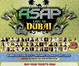 ASAP Live in Dubai