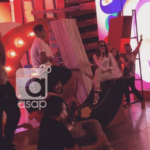 BEHIND-THE-SCENES: KathNiel, sweet na sweet sa backstage ng #ASAP4ever