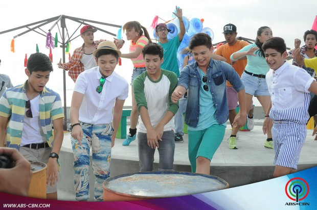 #ShinePilipinas: ASAP stars' fun moments at the ABS-CBN Summer Station ID 2015 shoot