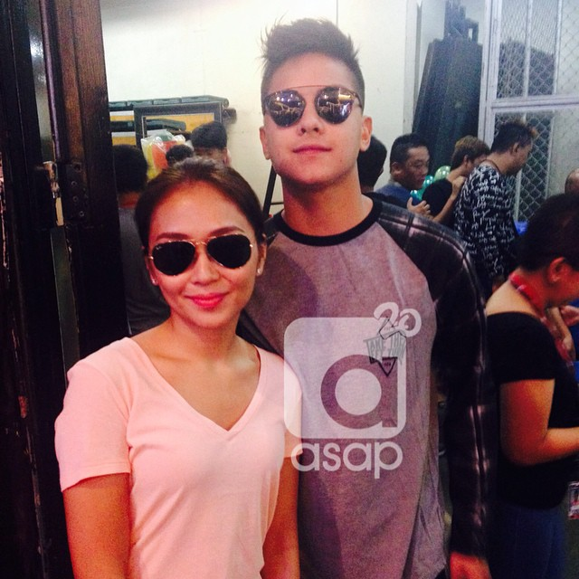 BACKSTAGE PHOTOS: Highest level kilig vibe on ASAP20 with KathNiel and JaDine