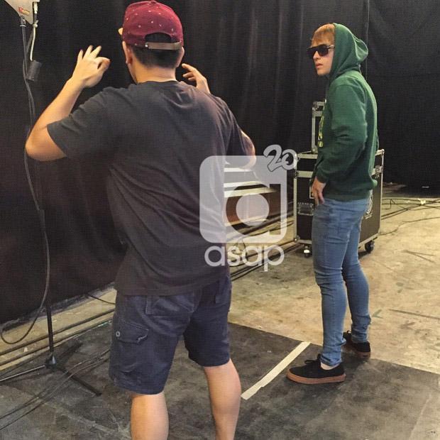 #ASAPRainOrShine Backstage photos