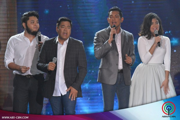 PHOTOS: Super cool dads Gary, Martin, Richard and Piolo share the ASAP center stage with their children on Father's Day