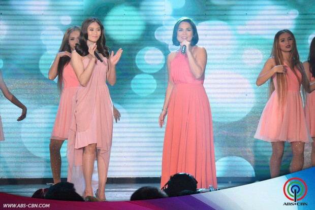 PHOTOS: Queen of Pinoy Soap Opera Judy Ann Santos and Popstar Royalty Sarah Geronimo together on ASAP stage