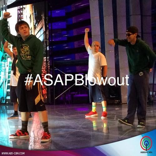 Backstage Photos of #ASAPBlowOut