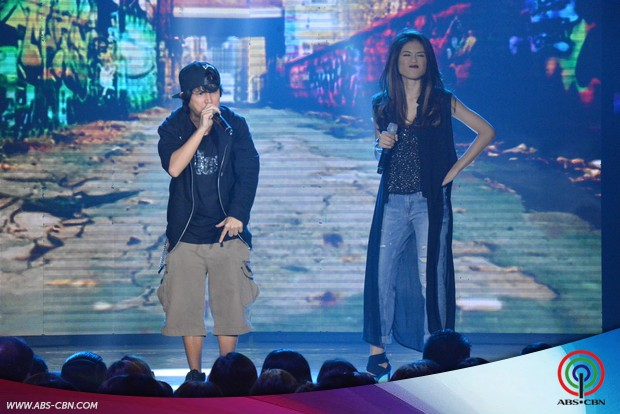 PHOTOS: Toni, Abra, Yeng and Rico's raptastic prod number