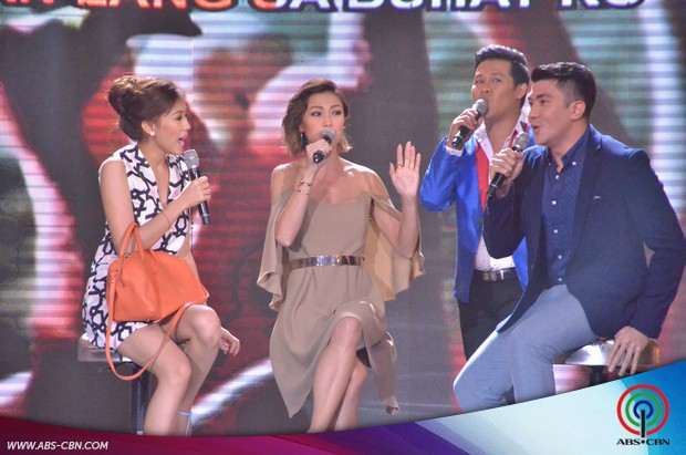 PHOTOS: Pangako Sa'Yo's Amor Powers Jodi Sta Maria vs Alex Gonzaga in Karaokey showdown