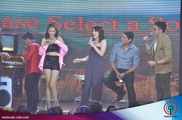 PHOTOS: CharDawn nakipagsabayan sa kantahan at kulitan kina ASAP Karaokey Royalties Alex at Luis