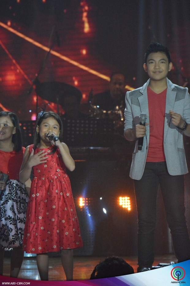 PHOTOS: The Voice Kids Season 1 Top 2 Lyca and Darren with the talented semi-finalists of The Voice Kids Season 2