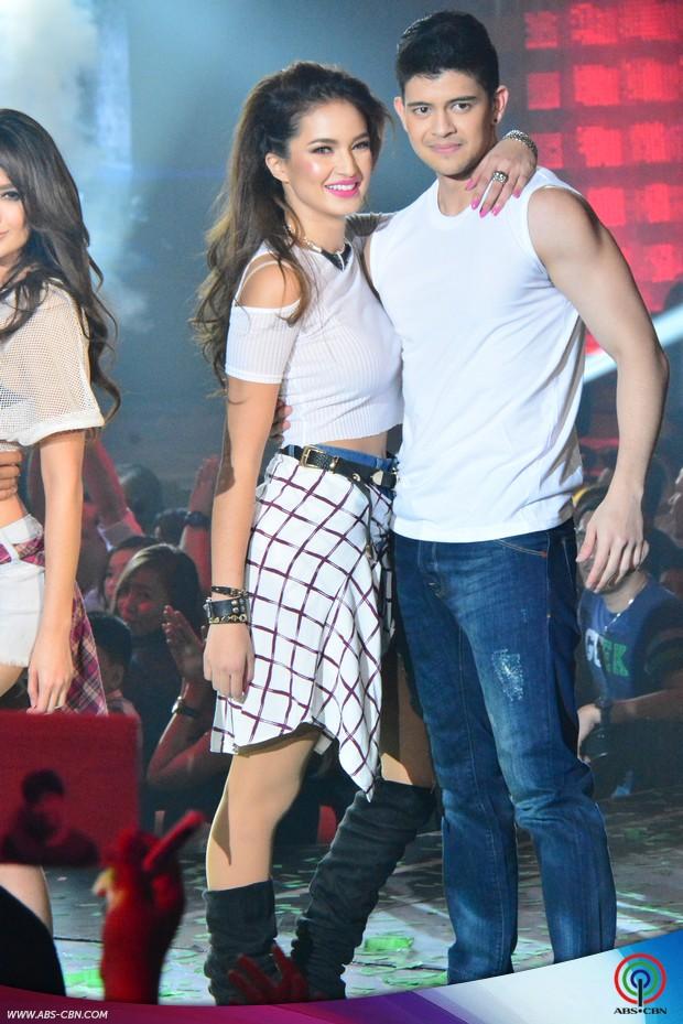 PHOTOS: Supah sexy prod with supah hot stars Sarah Lahbati and Arci Munoz