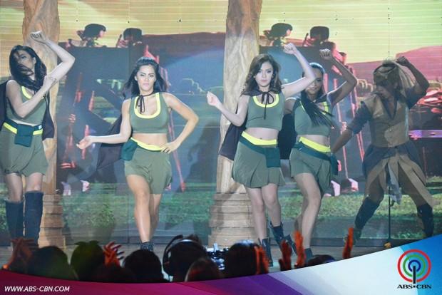 LOOK: ASAP stars in full Clash of Clan costumes heat up ASAP dance floor