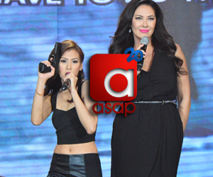PHOTOS: ASAP Karaokey showdown with the fabulous Ruffa Gutierrez