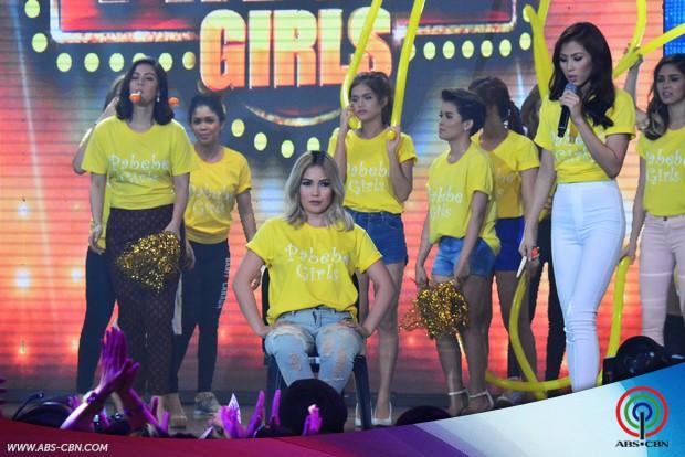 PHOTOS: Game on! Team ASAP Pabebe Girls vs Team ASAP PaNaeNae Boys
