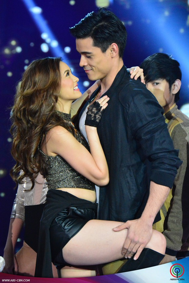 PHOTOS: KimXi in sexy prod number on ASAP