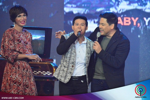 PHOTOS: Alex Gonzaga as 'Pops Fernandez' on ASAP Karaokey with Martin Nievera