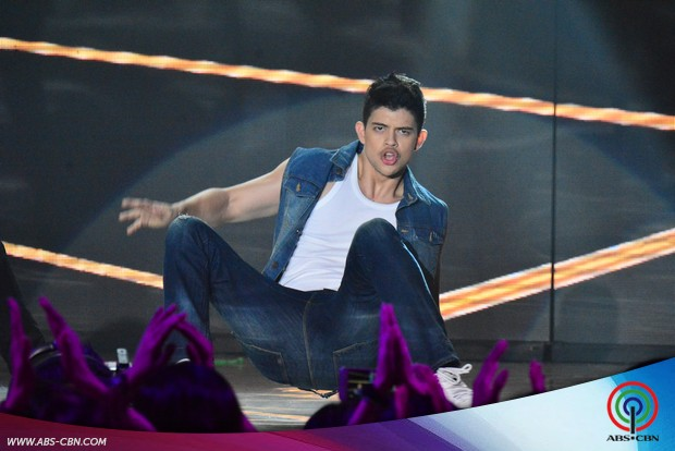 PHOTOS: Sizzling beauty Sarah Lahbati with Enrique & Rayver in one supah hot dance number