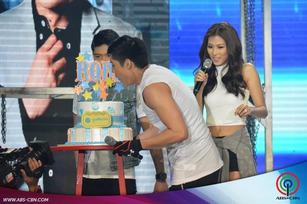 PHOTOS: Supah astig treat from the birthday boy Robi Domingo