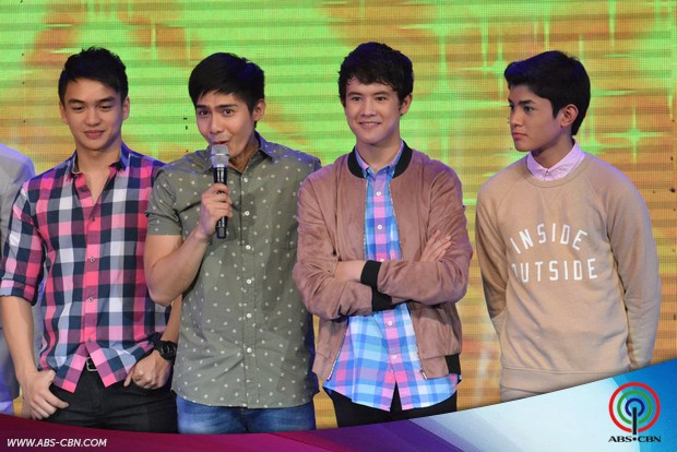 PHOTOS: Pangako sa'Yo lead stars Kathryn, Daniel, Jodi & Ian spread kilig vibes on ASAP20 Biyaheng Binan
