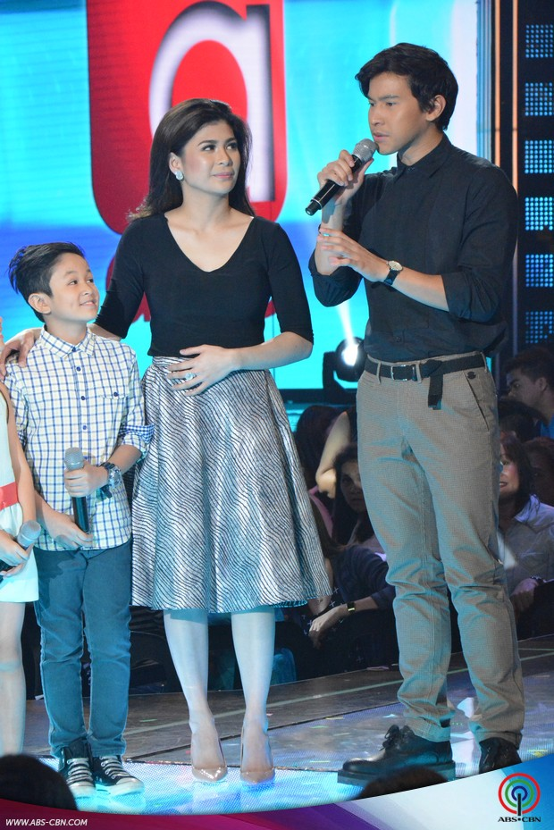 PHOTOS: Cute kids ng Walang Iwanan with Roxanne Guinoo on ASAP20