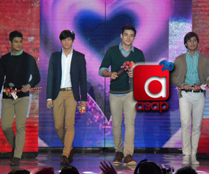 PHOTOS: Kilig to the max with Kapamilya heartthrobs