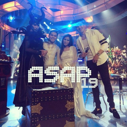 PHOTOS: Awesome chills and thrills from ASAP stars on #ASAPThriller