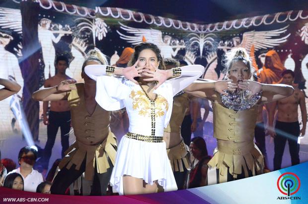 PHOTOS: Sarah Lahbati in another supah hot performance on ASAP20