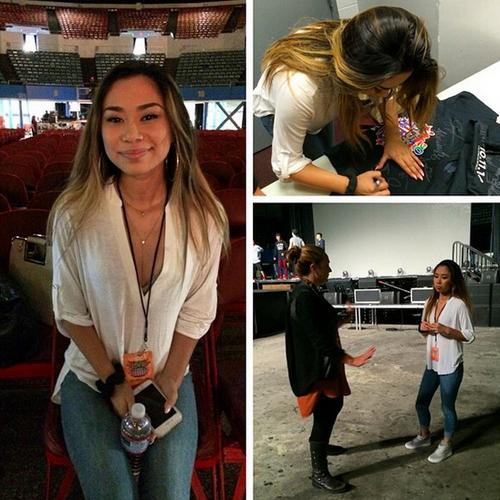 #ASAPLIVEINLA Backstage and Rehearsal Photos