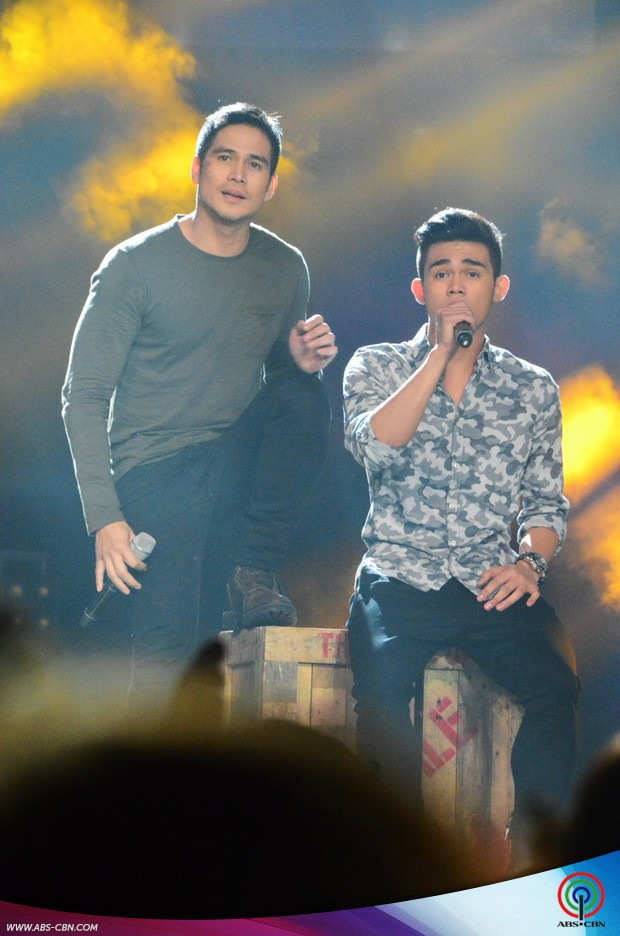 PHOTOS: Gary, Zsa Zsa, Piolo & Martin perform with their children on ASAP20