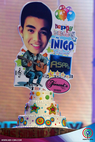 PHOTOS: Inigo Pascual's birthday bash on ASAP19
