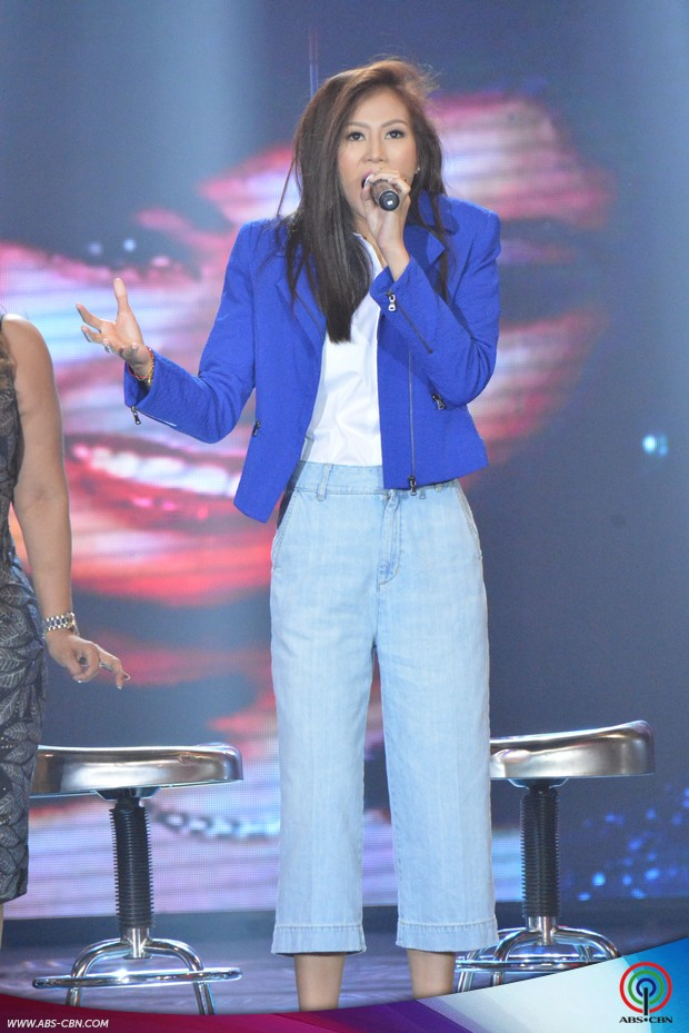 PHOTOS: The country's jukebox divas Claire Dela Fuente, Eva Eugenio & Imelda Papin, nakisaya sa ASAP Karaokey