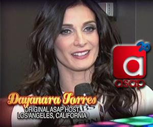 Dayanara Torres congratulates ASAP on their 20th anniversary