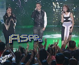 The Voice Kids coaches perform on ASAP stage