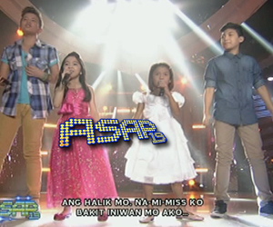 The Voice Kids Big 4 on ASAP Stage