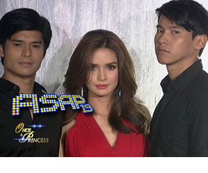 Erich, Enchong and JC on ASAP19
