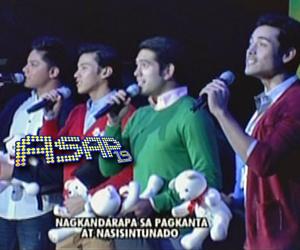 Xian, Daniel Gerald at Enchong, hinarana ang ASAP LA audience with matching teddy bear stuffed toys!
